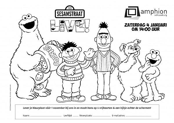 Kleurplaten Boek Printen.Kleurplaten Kidsclub Schouwburg Amphion